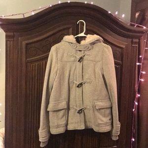 American Eagle Outfitters Eagle Fleece Jacket Coat